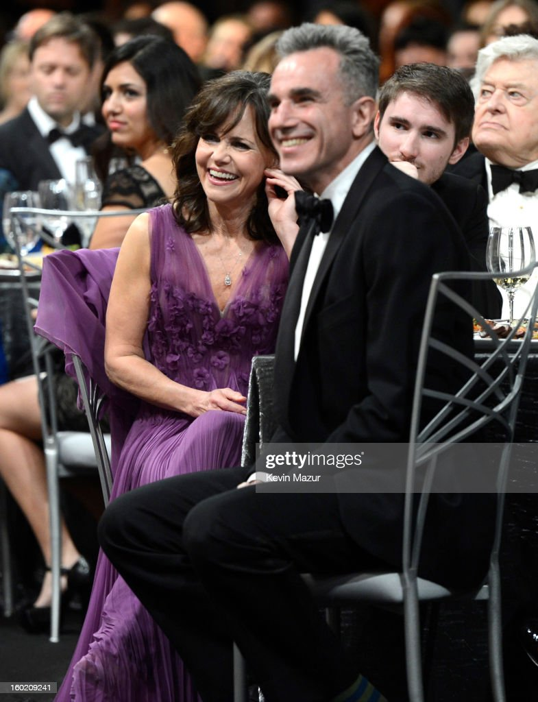Sally Field and Daniel Day Lewis attend at the 19th Annual Screen Actors Guild Awards at The Shrine Auditorium on January 27, 2013 in Los Angeles, California. (Photo by Kevin Mazur/WireImage) 23116_016_1487.jpg