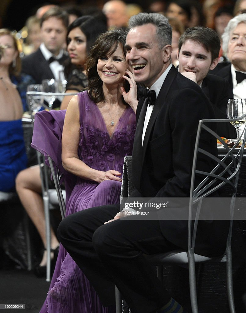 Sally Field and Daniel Day Lewis attend at the 19th Annual Screen Actors Guild Awards at The Shrine Auditorium on January 27, 2013 in Los Angeles, California. (Photo by Kevin Mazur/WireImage) 23116_016_1482.jpg
