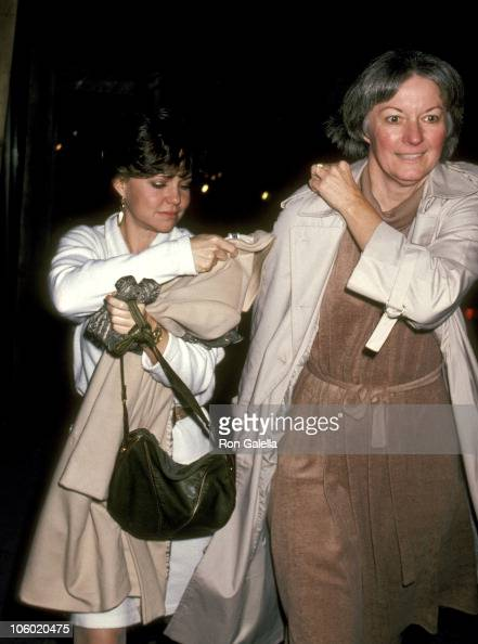 Sally Field and Pat Kingsley during Sally Field and Pat Kingsley Sighted at Elaine's December 3 1982 at Elaine's in New York City New York United...
