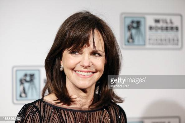Sally Field arrives at CinemaCon 2013 'Pioneer of the Year' Awards honoring Kathleen Kennedy held at Caesars Palace on April 17 2013 in Las Vegas...