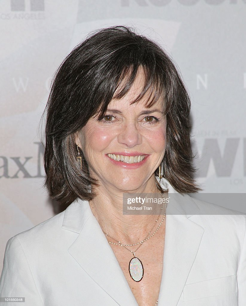 Sally Field arrives to the Women In Film 2010 Crystal Lucy Awards held at Hyatt Regency Century Plaza on June 1 2010 in Century City California