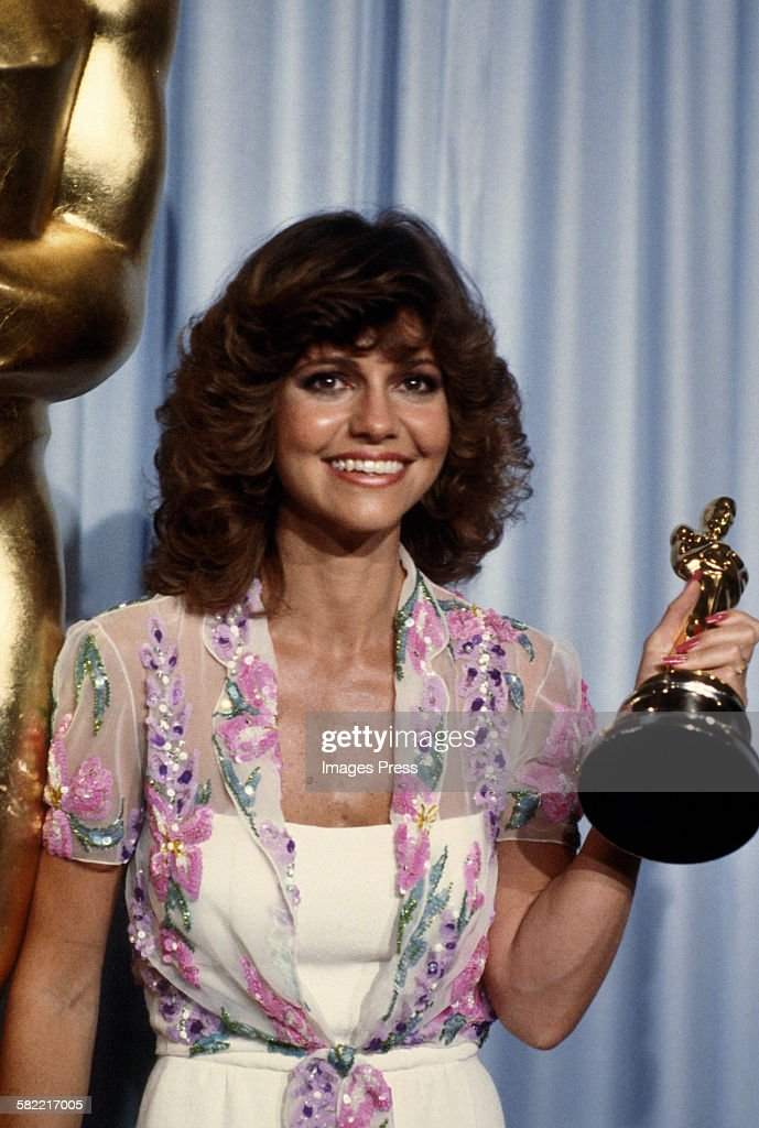 Sally Field attends the 52nd Academy Awards circa 1980 in Los Angeles California
