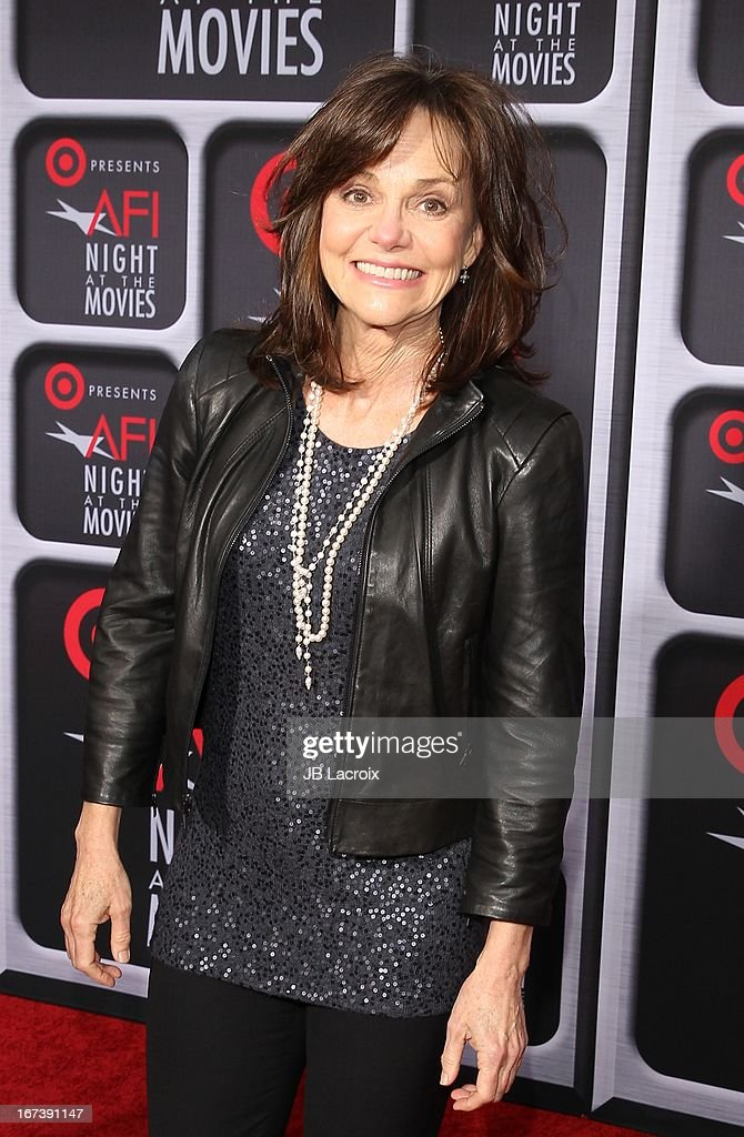 Sally Field attends the AFI Night At The Movies presented by Target held at ArcLight Hollywood on April 24, 2013 in Hollywood, California.