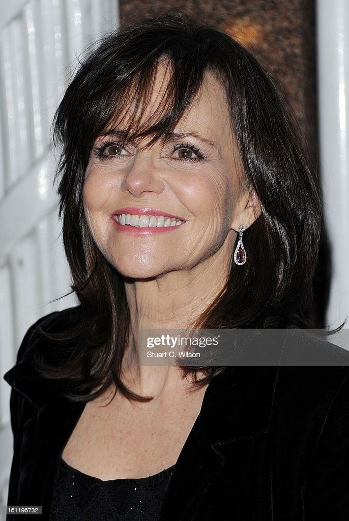 Sally Field attends the EE British Academy Film Awards nominees party at Asprey London on February 9, 2013 in London, England.