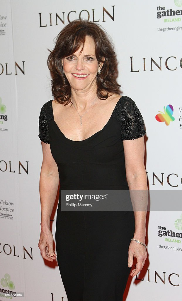 Sally Field attends the European premiere of 'Lincoln' on January 20, 2013 in Dublin, Ireland.