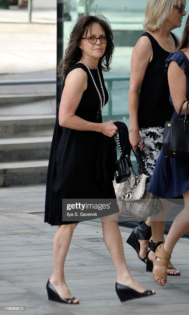 Sally Field attends the Nora Ephron Memorial Service on July 9, 2012 in New York City.