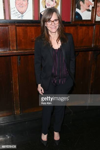 Sally Field attends the opening night afterparty for 'The Glass Menagerie' at Sardi's on March 9 2017 in New York City