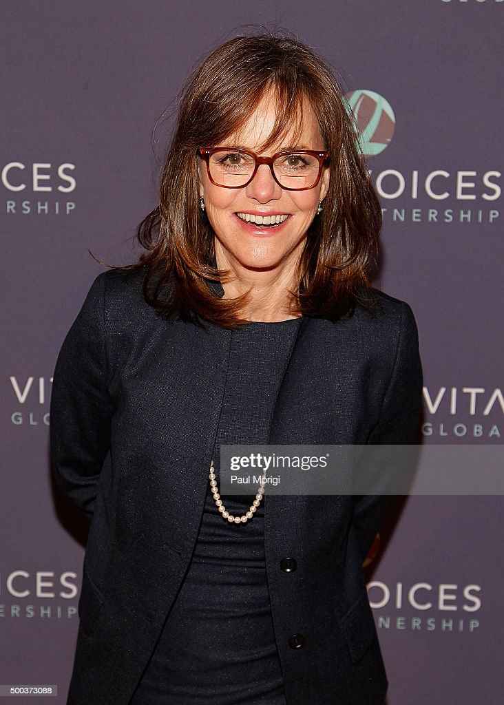 Sally Field attends the Vital Voices Solidarity Awards at IAC Building on December 7 2015 in New York City