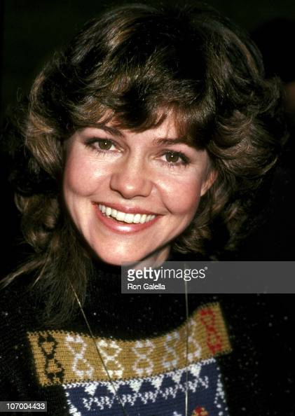 Sally Field during Celebration Signing of the California Bilateral Nuclear Weapons Freeze Initiative at Bud and Peg Yorkin's Home in Beverly Hills...