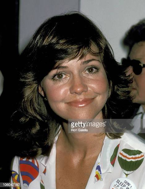 Sally Field during JP Stevens Boycott Benefit at Berwin Entertainment Complex in Los Angeles California United States