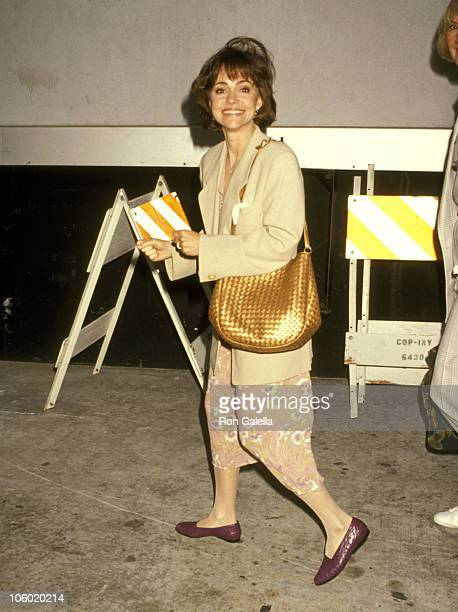 Sally Field during Sally Field at a Taping of 'Larry King Live' at CNN Studios in Hollywood California United States
