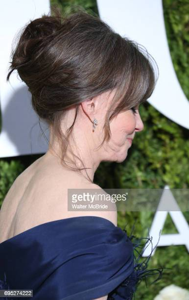 Sally Field hair detail attends the 71st Annual Tony Awards at Radio City Music Hall on June 11 2017 in New York City
