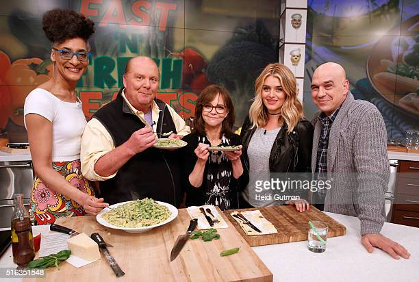 THE CHEW 3/21/16 Sally Field is the guest on ABC's 'The Chew' 'The Chew' airs MONDAY FRIDAY on the ABC Television Network SYMON