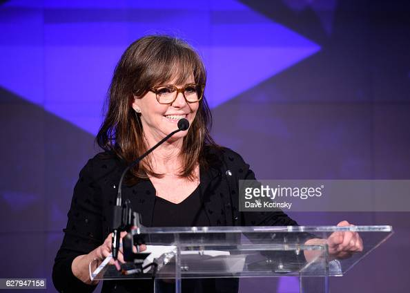 Sally Field speaks at the Voices of Solidarity 2016 at IAC HQ on December 5 2016 in New York City