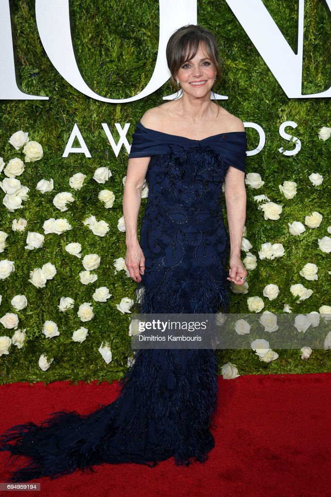 Sally Fields attends the 2017 Tony Awards at Radio City Music Hall on June 11, 2017 in New York City.