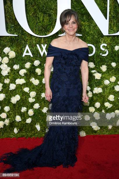 Sally Fields attends the 2017 Tony Awards at Radio City Music Hall on June 11 2017 in New York City