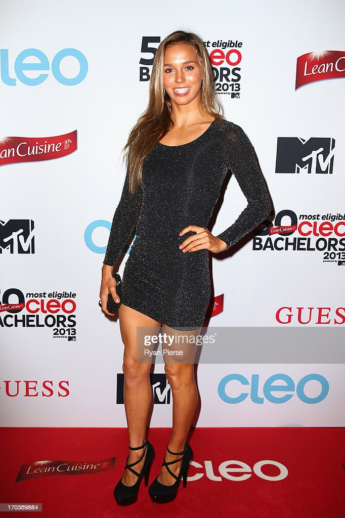 Sally Fitzgibbons arrives at the CLEO Bachelor of the Year Awards on June 12, 2013 in Sydney, Australia.