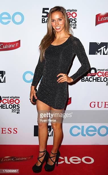 Sally Fitzgibbons arrives at the CLEO Bachelor of the Year Awards on June 12 2013 in Sydney Australia