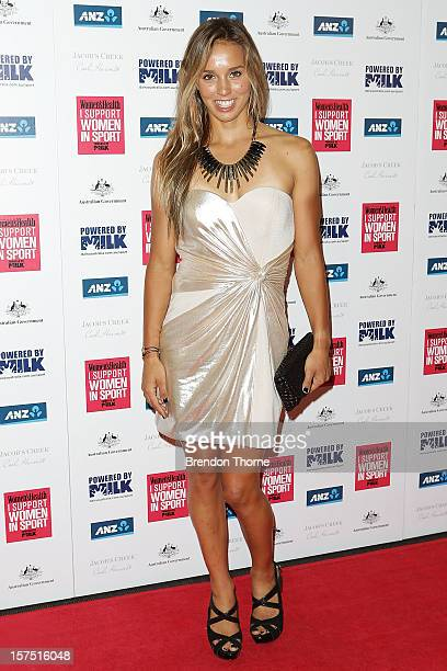 Sally Fitzgibbons attends the 'I Support Women In Sport' Awards at Paddington Town Hall on December 4 2012 in Sydney Australia