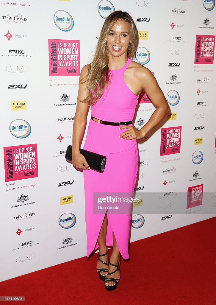 Women's Health 'I Support Women In Sport' Awards - Arrivals