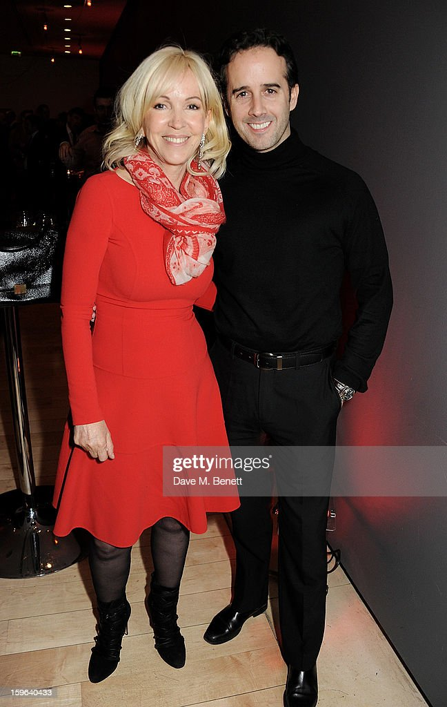 Sally Greene (L) and guest attends an after party celebrating the Red Carpet Premiere of the Netflix original series 'House of Cards' at Asia de Cuba, St Martins Lane Hotel, on January 17, 2013 in London, England.