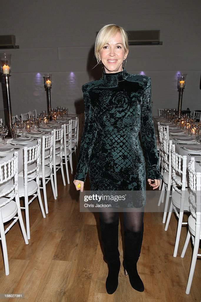 Sally Greene attends the VIP backstage dinner ahead of this year's Old Vic 24 Hour Musicals Celebrity Gala at The Old Vic Theatre on December 9, 2012 in London, England.