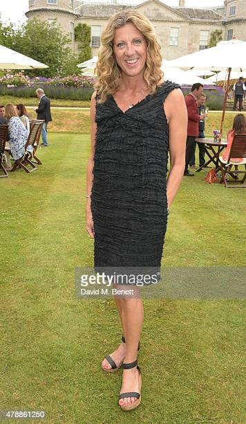 Sally Gunnell and Johnathan Bigg attend the Carter Style Luxury Lunch at the Goodwood Festival of Speed on June 28 2015 in Chichester England