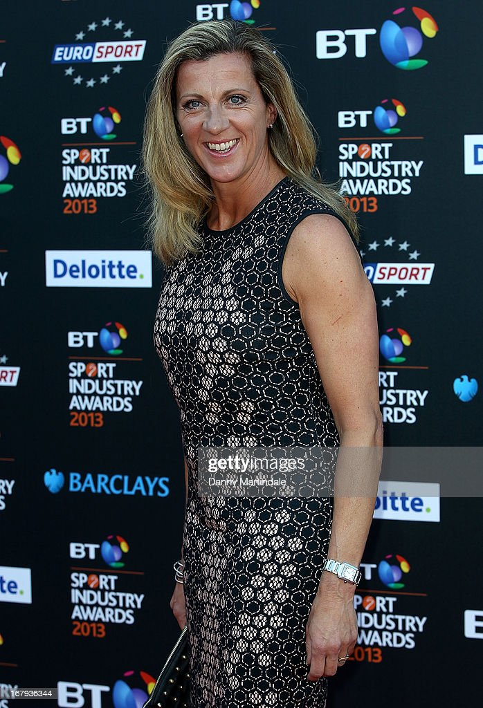 Sally Gunnell attends the BT Sports Industry awards at Battersea Evolution on May 2, 2013 in London, England.