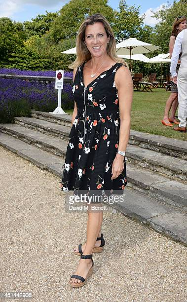 Sally Gunnell attends the Cartier Style Luxury Lunch at the Goodwood Festival of Speed on June 29 2014 in Chichester England