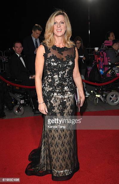 Sally Gunnell attends the Pride Of Britain Awards at The Grosvenor House Hotel on October 31 2016 in London England