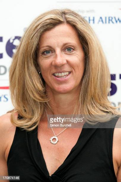 Sally Gunnell attends the VIP Preview for 'Taste of London' at Regent's Park on June 19 2013 in London England