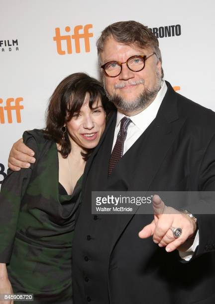 Sally Hawkins and Guillermo del Toro attends 'The Shape of Water' premiere during the 2017 Toronto International Film Festival at The Elgin on...