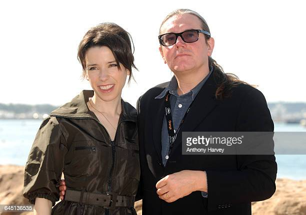 Sally Hawkins and Stephen Woolley attend the 'We Want Sex' Photocall at the Martini Terrazzo beach during the 62nd International Cannes Film Festival...