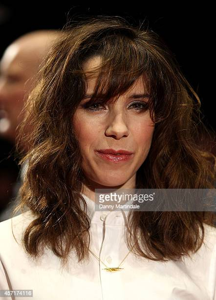 Sally Hawkins attends a screening of 'X Y' during the 58th BFI London Film Festival at Odeon West End on October 13 2014 in London England
