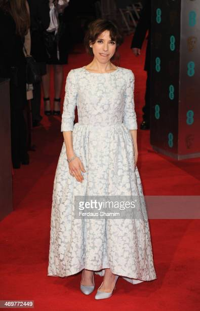 Sally Hawkins attends the EE British Academy Film Awards 2014 at The Royal Opera House on February 16 2014 in London England