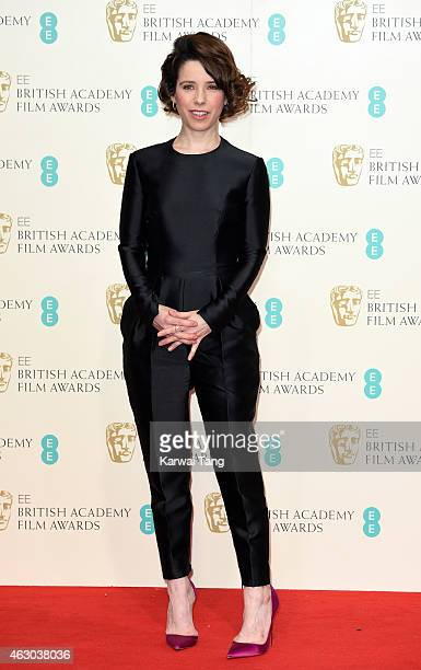 Sally Hawkins poses in the winners room at the EE British Academy Film Awards at The Royal Opera House on February 8 2015 in London England