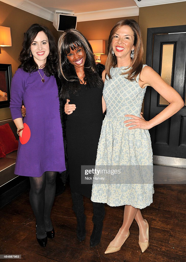 June Sarpong:Heather Kerzner attend the Madderson London Spring/Summer 2014 womenswear collection launch party at Beaufort House on January 23, 2014 in London, England.