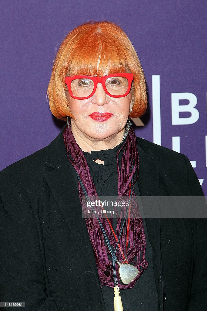 <a gi-track='captionPersonalityLinkClicked' href=/galleries/search?phrase=Sally+Jessy+Raphael&family=editorial&specificpeople=235998 ng-click='$event.stopPropagation()'>Sally Jessy Raphael</a> attends the premiere of 'Evocateur: The Morton Downey Jr. Movie' during the 2012 Tribeca Film Festival at Chelsea Clearview Cinemas on April 19, 2012 in New York City.