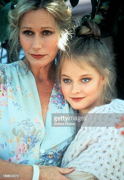 Sally Kellerman holds Jodie Foster in a scene from the film 'Foxes' 1980