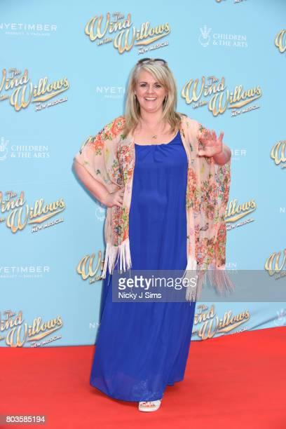 Sally Lindsay attends the Gala performance of Wind In The Willows at London Palladium on June 29 2017 in London England
