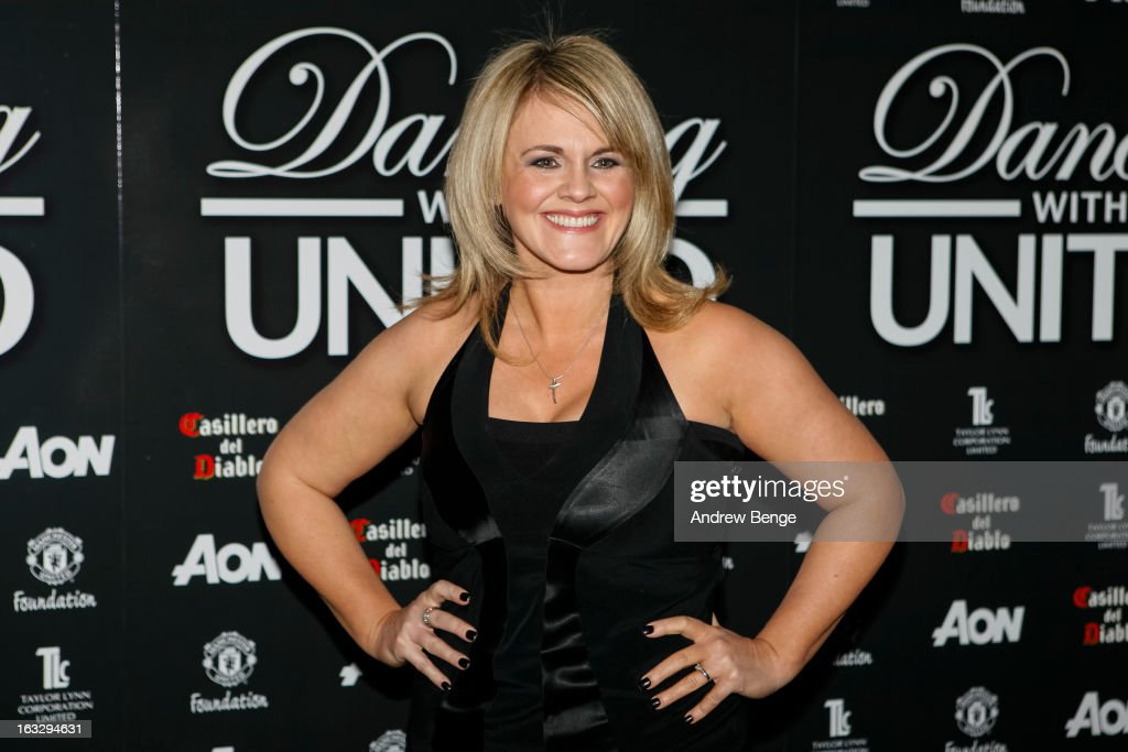 Sally Lindsay attends the Manchester United Foundation's Dancing With United charity fundraiser at Lancashire County Cricket Club on March 7, 2013 in Manchester, England.