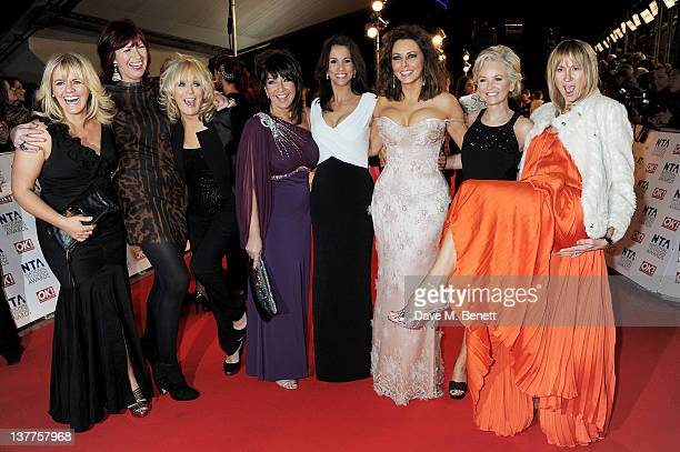 Sally Lindsay Janet Street Porter Sherrie Hewson Jane McDonald Andrea McLean Carol Vorderman Lisa Maxwell and Carol McGriffin attend the National...