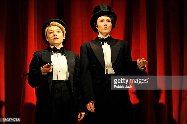 Sally Messham as Nancy and Laura Rogers as Kitty in Sarah Waters Tipping the Velvet adapted by Laura Wade and directed by Lyndsey Turner at the Lyric...
