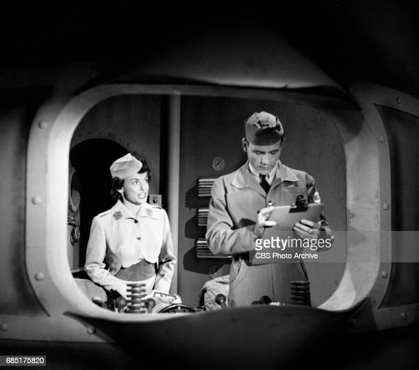 'Sally Norman Space Nurse an undeveloped television pilot Actress Dorothy Jolliffe plays Sally Norman is on the left This episode directed by George...