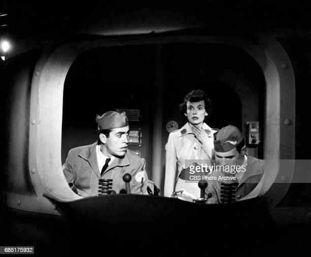 'Sally Norman Space Nurse an undeveloped television pilot Actress Dorothy Jolliffe plays Sally Norman is in the middle This episode directed by...