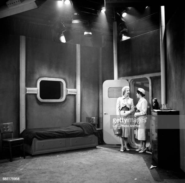 'Sally Norman Space Nurse an undeveloped television pilot Actress Dorothy Jolliffe plays Sally Norman is on the right This episode directed by George...