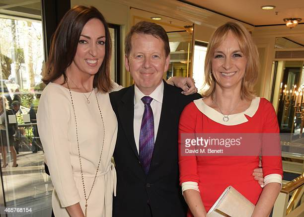 Sally Nugent Bill Turnbull and Louise Minchin attend the TRIC Television and Radio Industries Club Awards at The Grosvenor House Hotel on March 10...