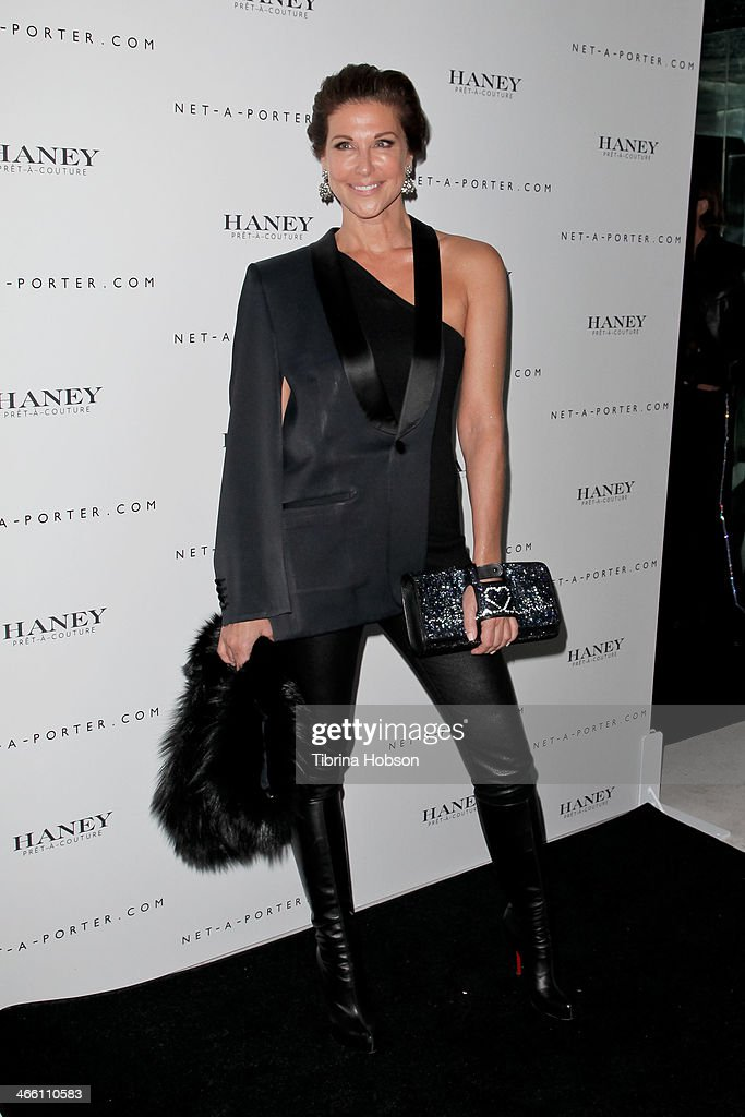 Sally Perrin attends the Haney Pret-A-Couture launch hosted by Net-A-Porter at mmhhmmm at The Standard, Hollywood on January 30, 2014 in West Hollywood, California.