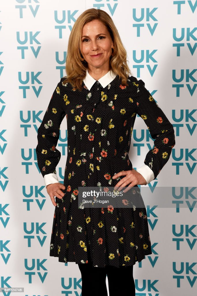 Sally Phillips attends the UKTV Live 2017 photocall at Claridges Hotel on September 13, 2017 in London, England. Broadcaster announces it's programs for the forthcoming season.