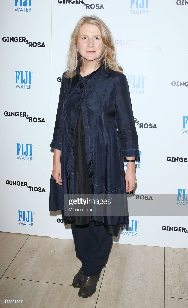 Sally Potter arrives at the Los Angeles special screening of 'Ginger & Rosa' held at The Paley Center for Media on November 8, 2012 in Beverly Hills, California.
